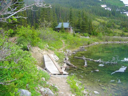 Cabin by Upper Dewey Lake