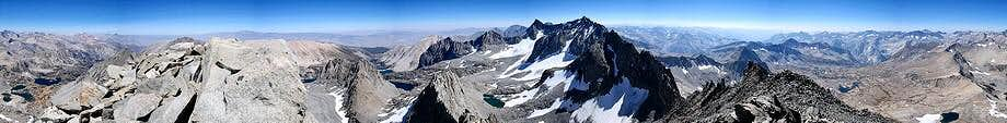 Mt Agassiz Panorama