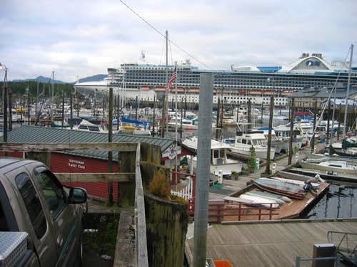 Golden Princess in Ketchikan