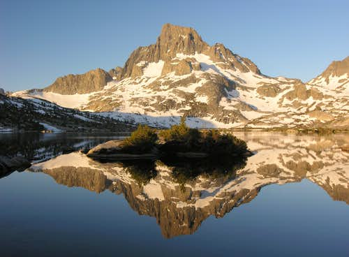 Banner Peak Reflection