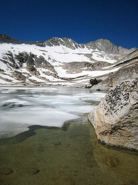 icy lakes