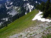 Jove Peak southern slopes