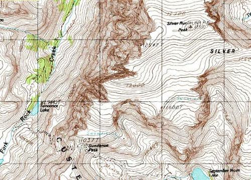 Topographical Map of the...