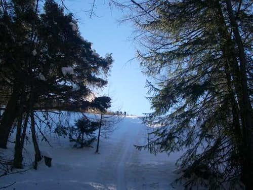 Ski mountaneering - in the...