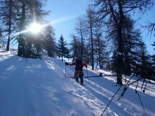 Ski mountaneering: the first...
