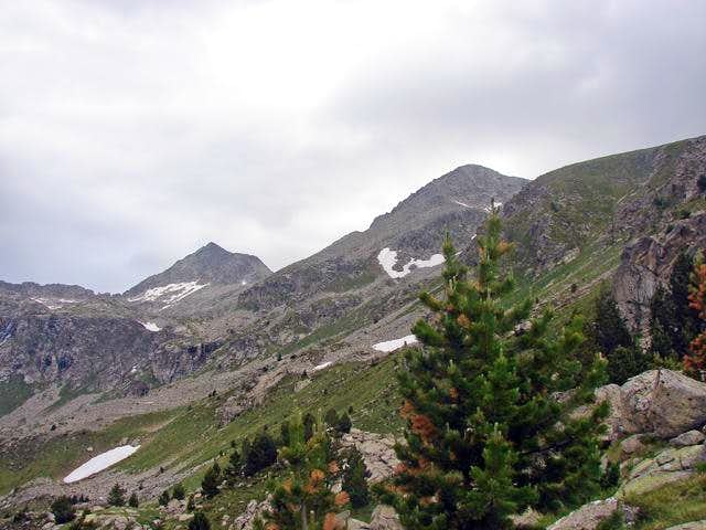 West face / Ridge North