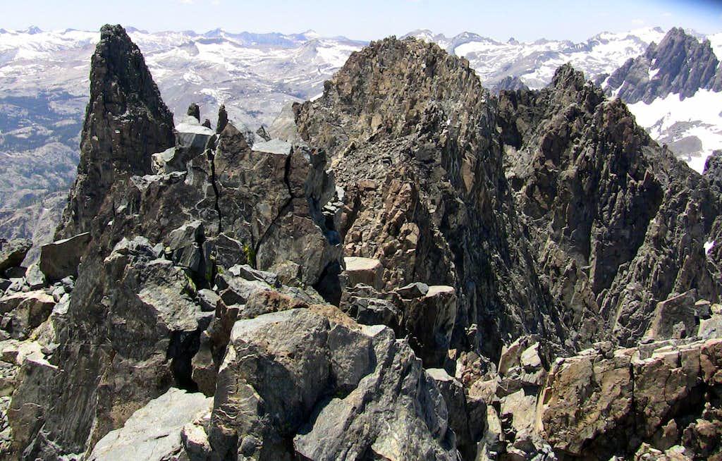 Summit view from Clyde Minaret