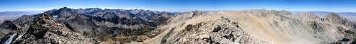 Mt Gould Summit Panorama