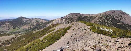 Mt Houghton Summit Panorama