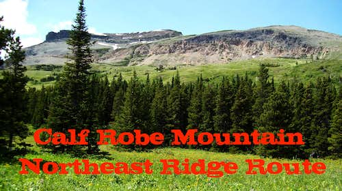 Calf Robe - NE Ridge Route