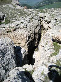 Rock Crevasse