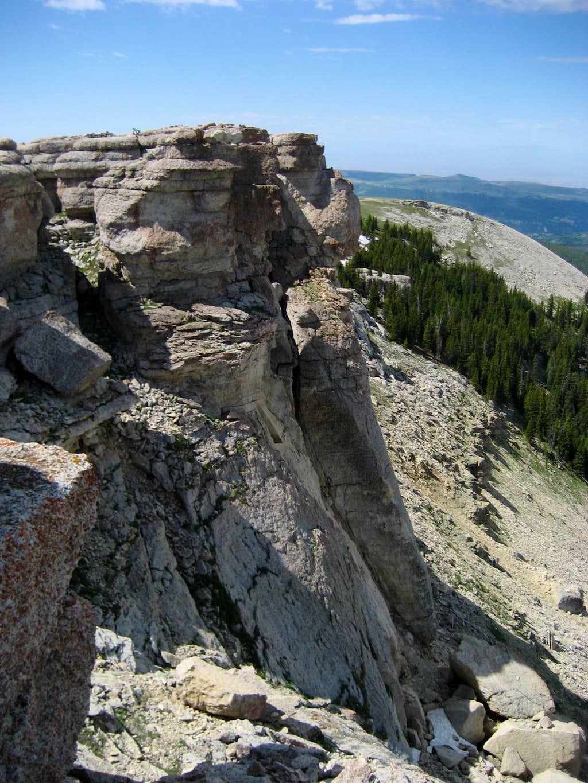 Sheep Mountain summit