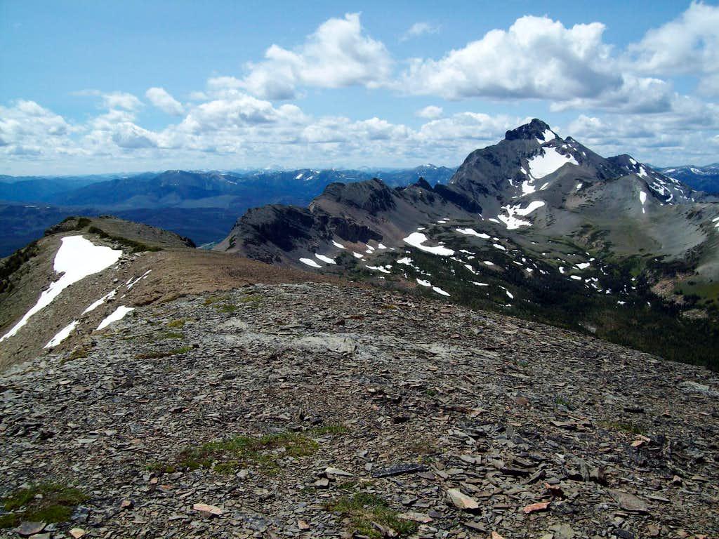 Summit Mountain from Calf Robe