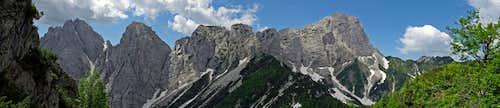 Sernio-Grauzaria group - panorama