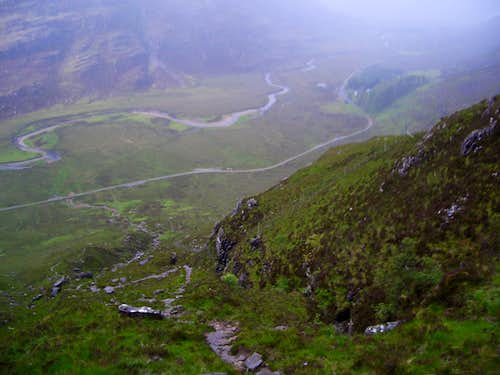 Trail to Liathach