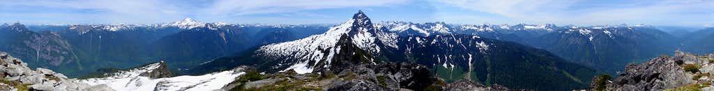 Bedal Peak 360° View