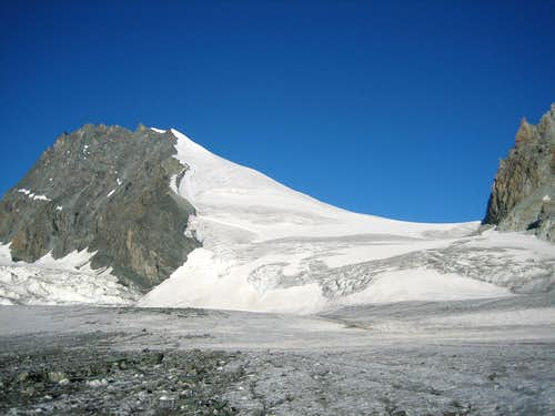 A view from the glacier