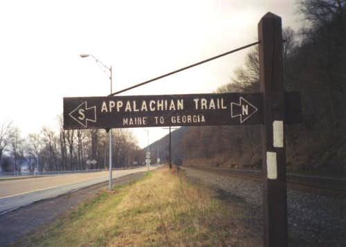 This is the Appalachian Trail...
