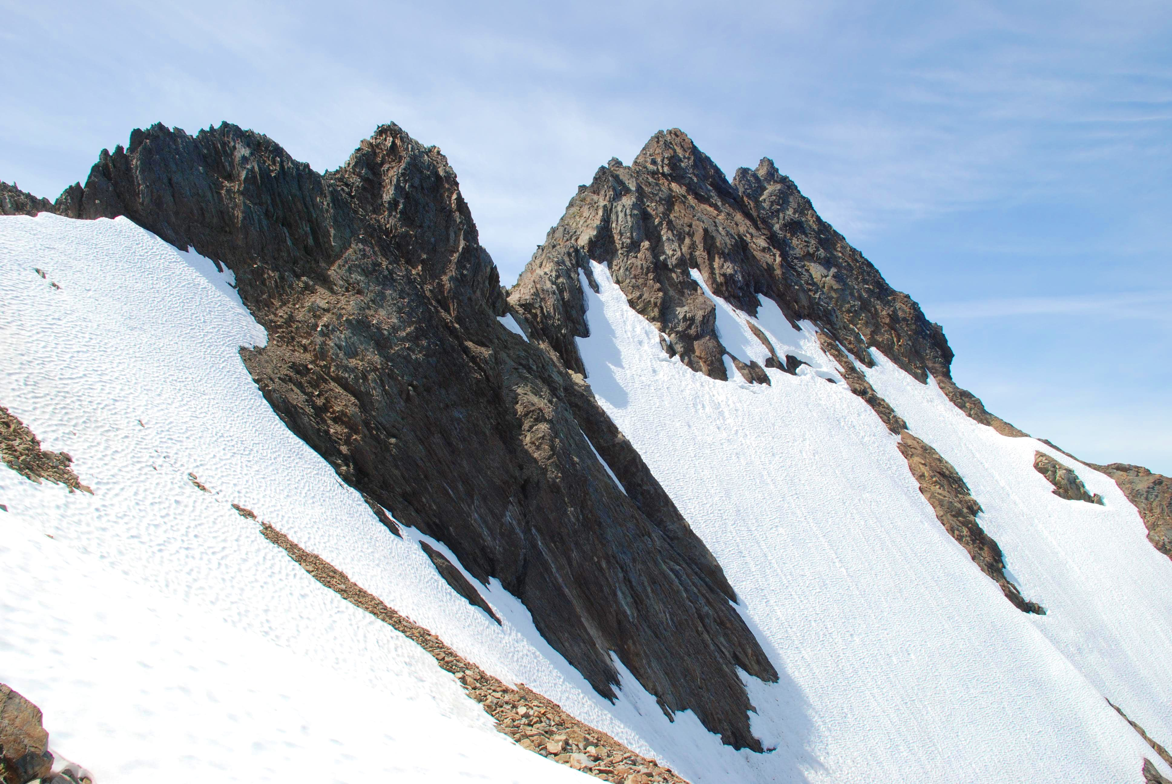 East Ridge from Flypaper Pass