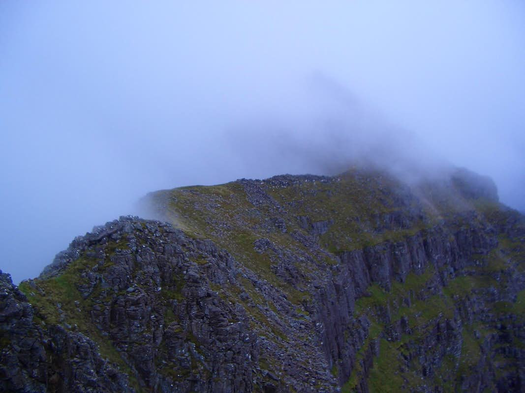 The Liathach ridge