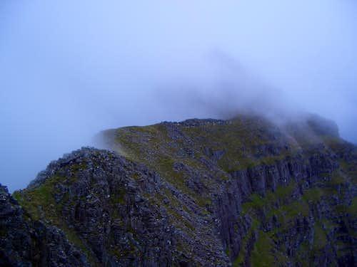 The Liathach ridge