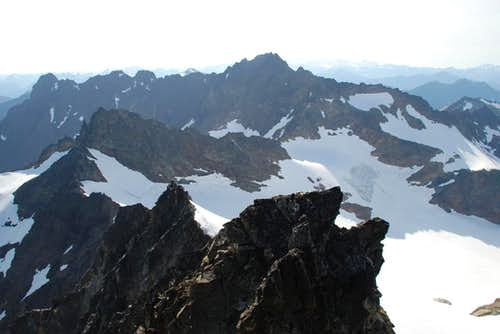 West Peak from Mt. Anderson