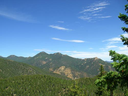 View from Cookstove Mountain