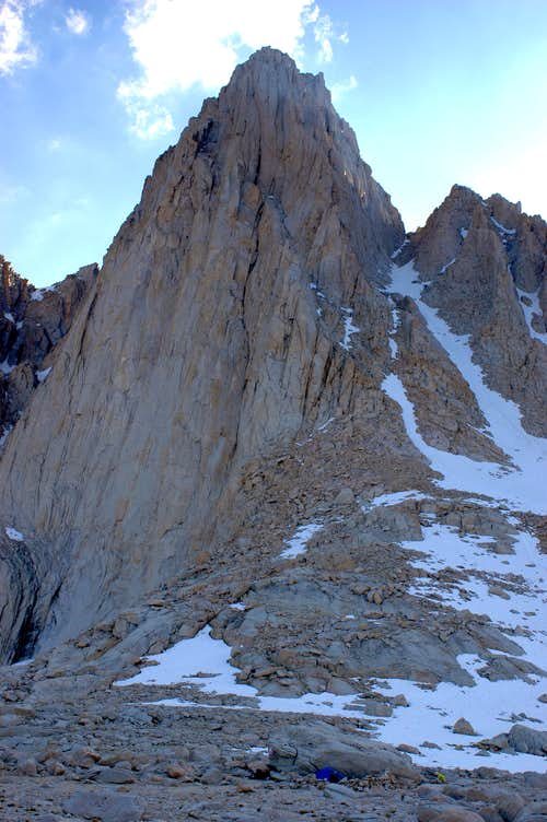 Our camp at the base of Mount Whitney