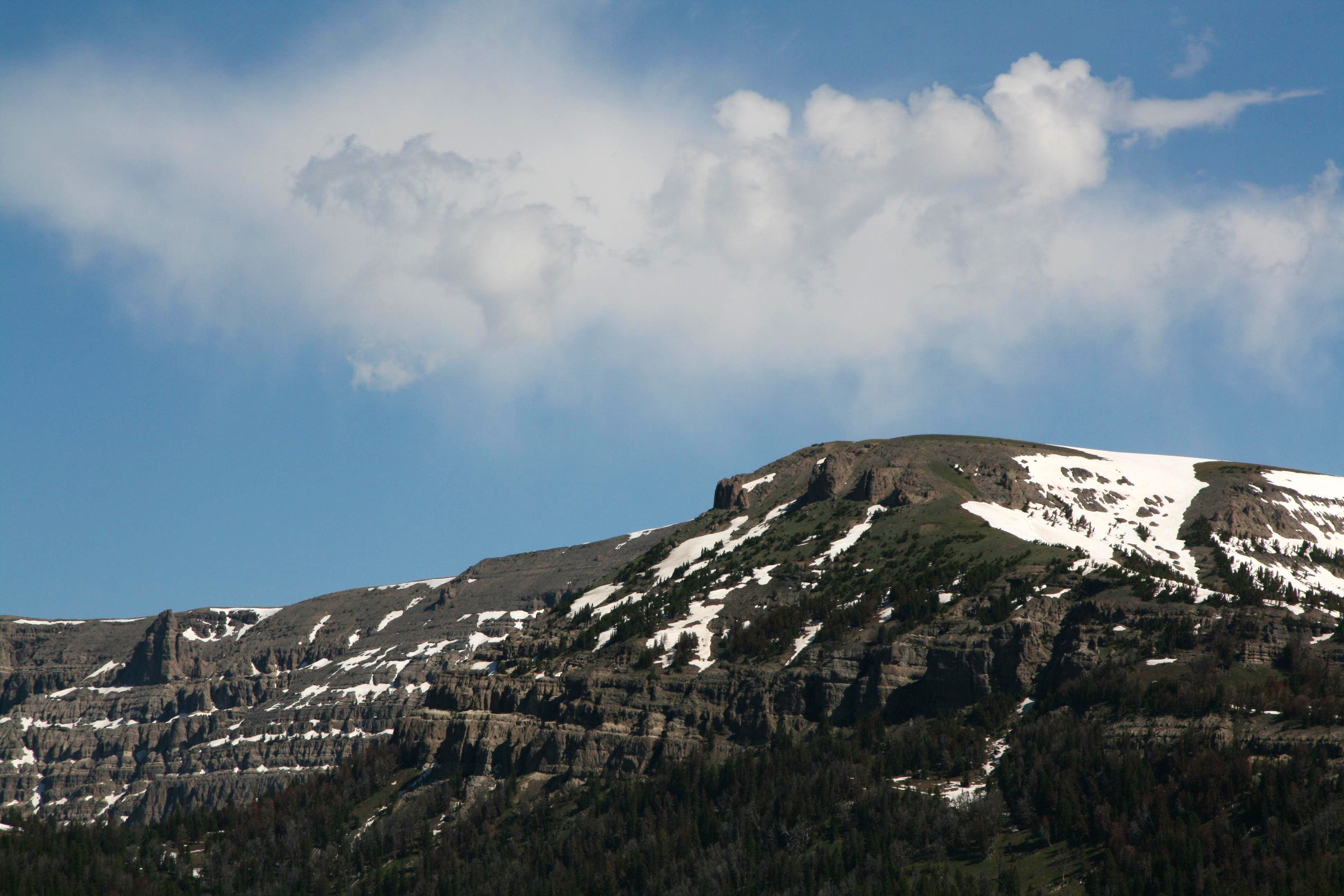 Buffalo Fork Peak (North Breccia Cliffs)