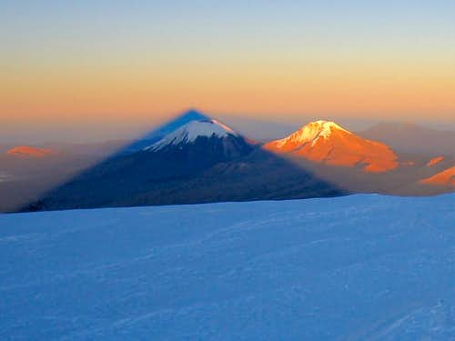 Sajama Summit Sunrise