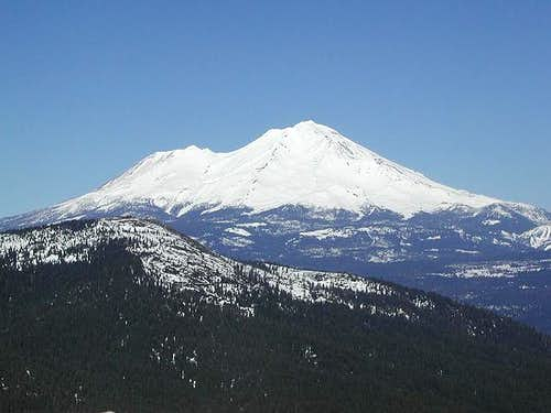 Shasta from the summit of...