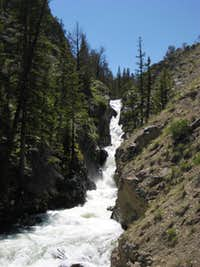 Waterfall on Torrey Creek