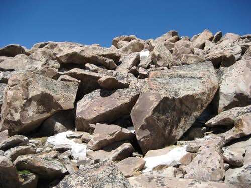 Boulders on Talus Mountain