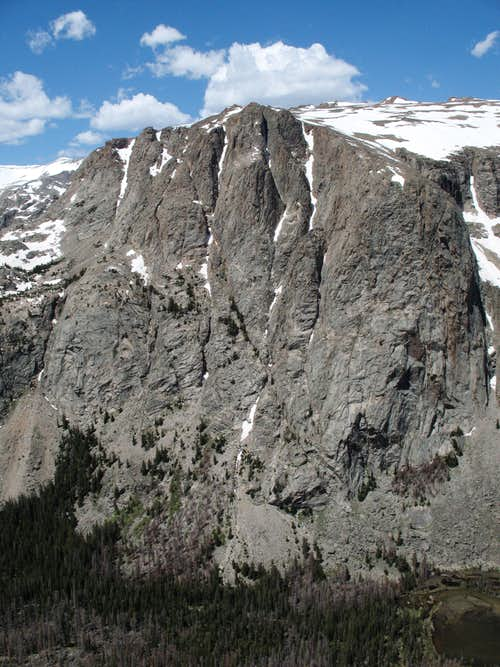 The Amazing East Face of Torrey Peak