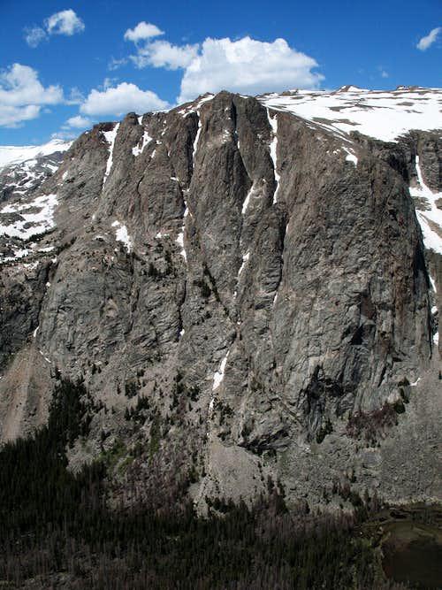 The Amazing East Face of Torrey Peak