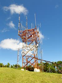 Boggy Peak - Radio towers
