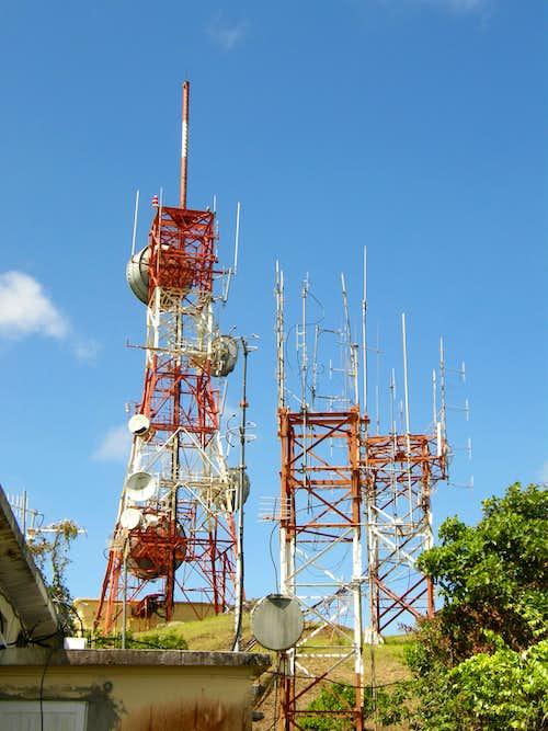 Boggy Peak - Radio Towers