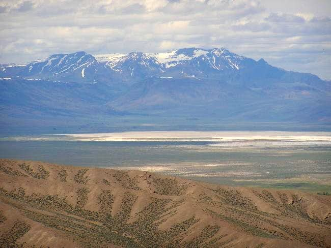 Steens Mountain as seen from...