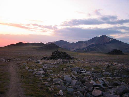 Peak 13,615 (1.7 mi NNW of White Mtn. Peak)