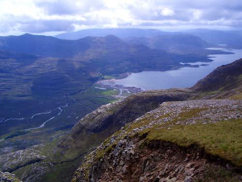Upper Loch Torridon from Liathach