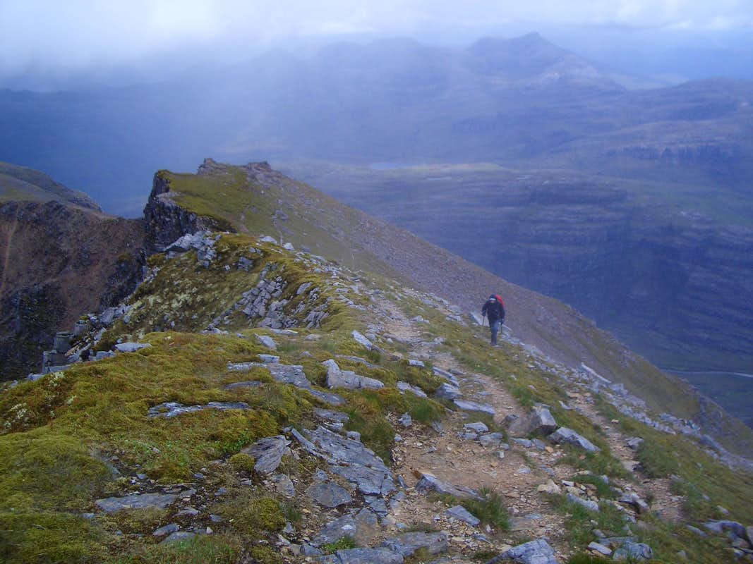 Liathach traverse - western end
