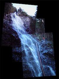 Kamikaze Falls, on the...