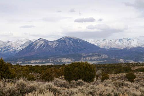 North & South Saddle Mountain