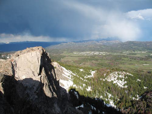 Summit View-- Teton Range