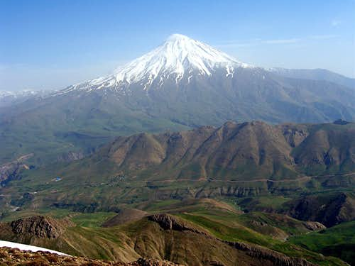 View of Mt. Damavand