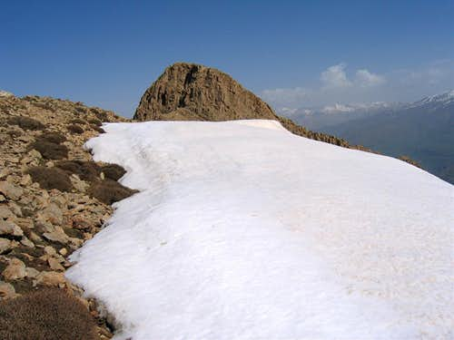 East Face of East Summit
