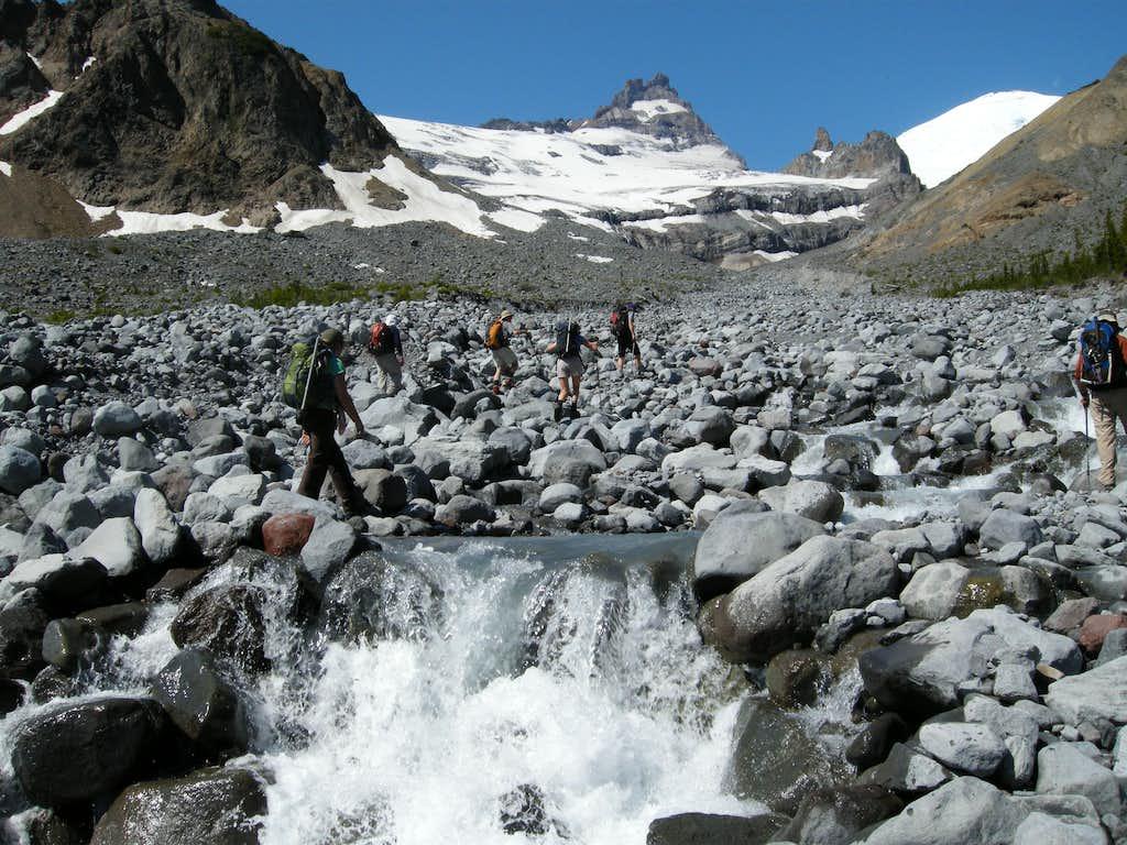 Crossing Frying Pan Creek