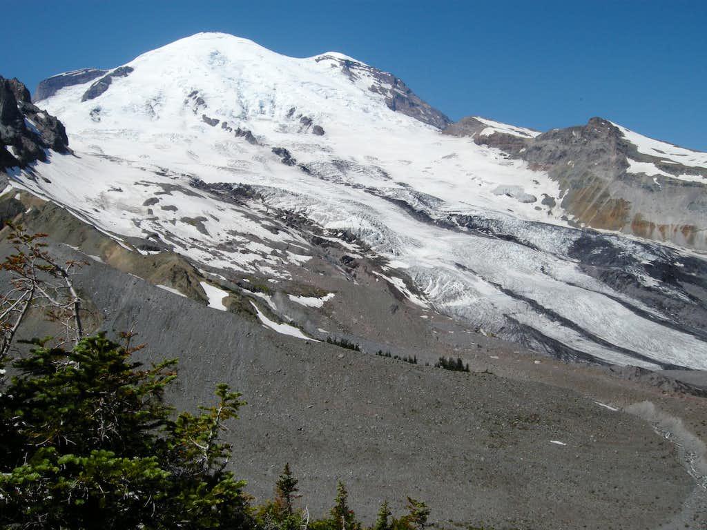 Mt. Rainier and the Emmons Glacier