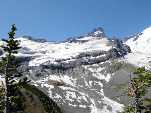 Little Tahoma from the Summit Ridge