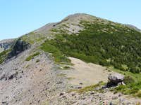 False Summit on Goat Island Mountain